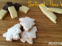 Gluten Free Shortbread - Three Ways