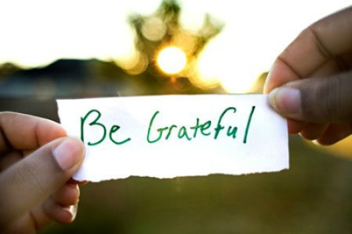 14 Ways to Make 2014 YOUR Year - Be Grateful