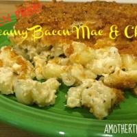 Gluten Free Creamy Bacon Mac & Cheese