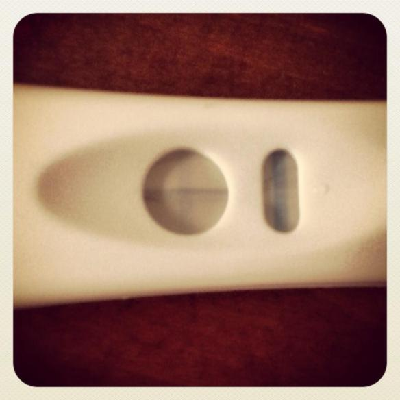Pregnancy Test - Very faint positive