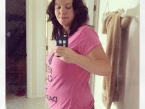 10 week bump third pregnancy