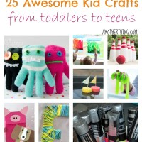 25 Awesome Kid Craft Projects