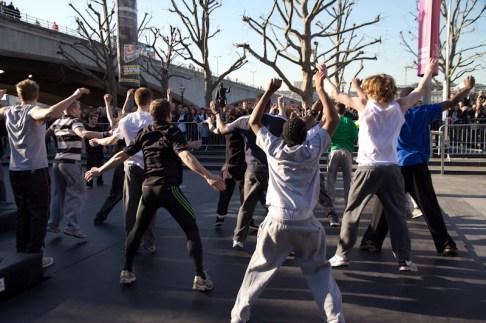 art of motion london warmup workshop