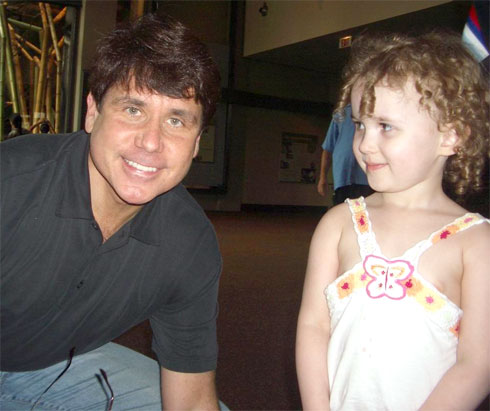 Sydney with Governor Blagojevich