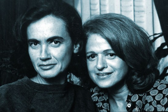 Edith Windsor and her wife Thea Spyer, in the 1960s