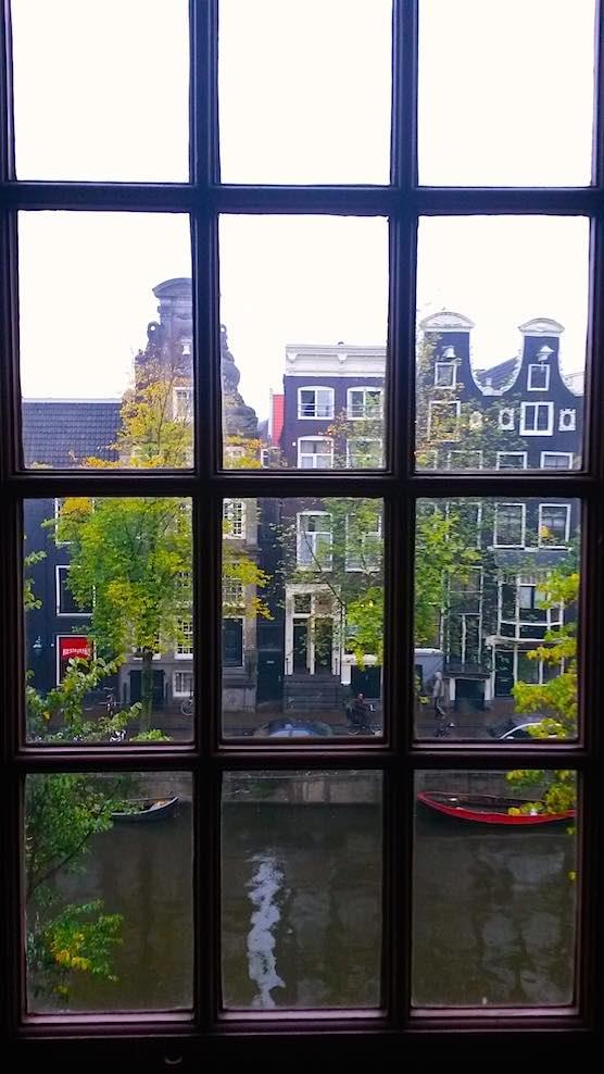 Hidden Church in Red Light District Amsterdam View