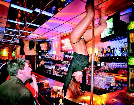 Light Amsterdam lesbian red