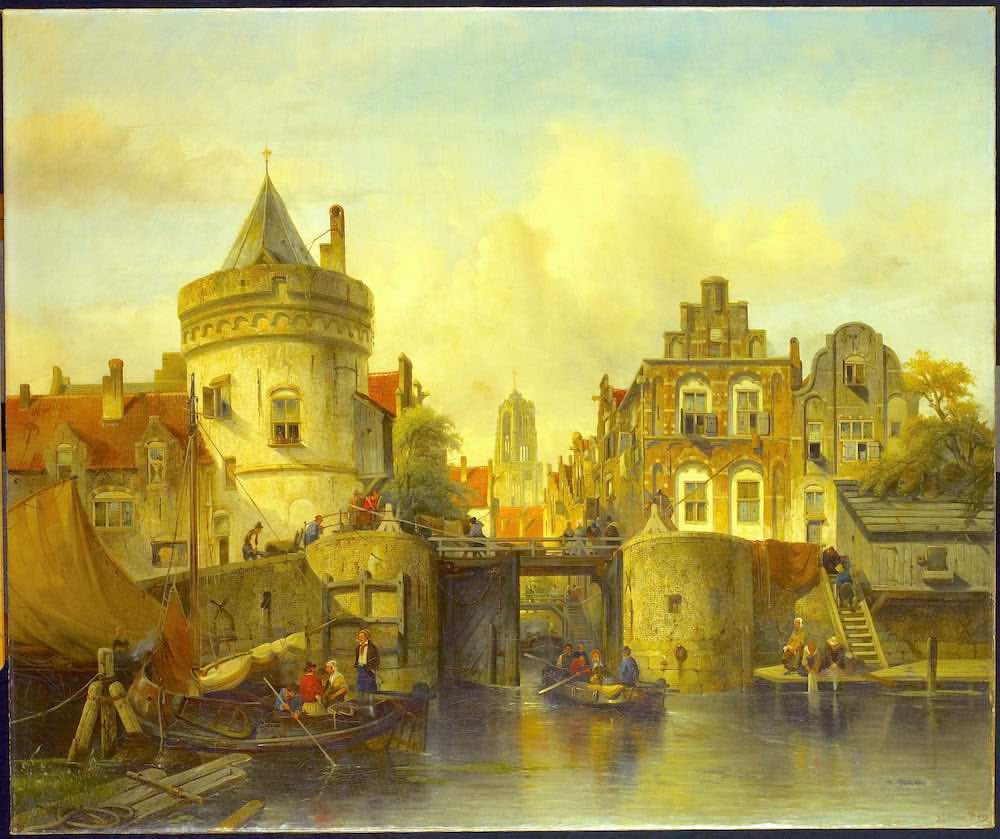 Amsterdam Red Light District History Oudezijds Kolk