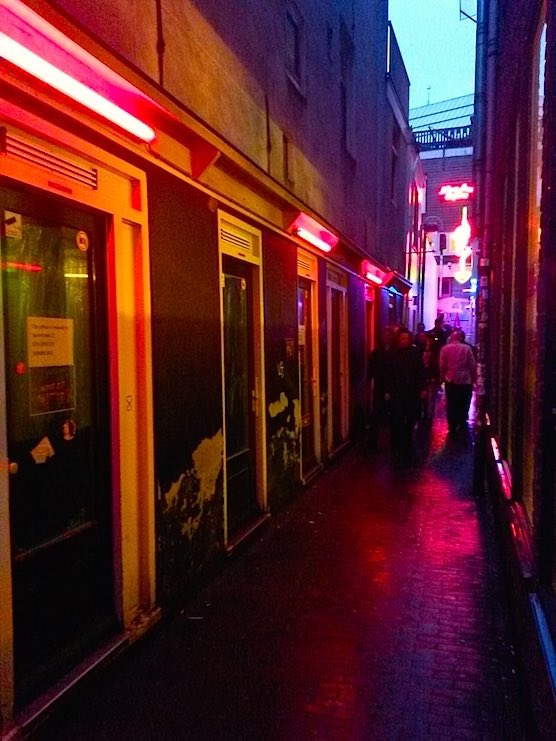 Interview with a Dutch prostitute in the Red Light District