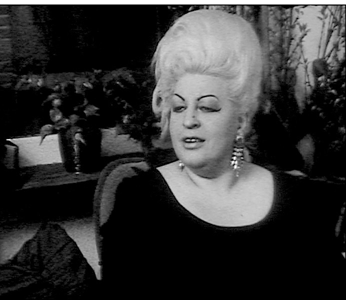 Blonde Mien in the film: Around the Old Church. Dutch prostitute in 1968.
