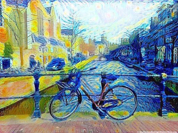 Amsterdam Red Light District By Van Gogh 13