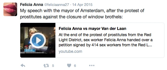 Prostitution in Amsterdam and Politics Mayor