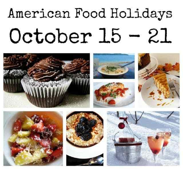 food holidays, american food holidays