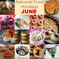 National Food Holidays: June
