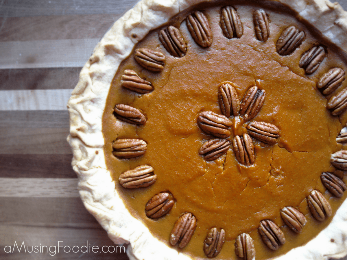 Diabetic Friendly Pumpkin Pie