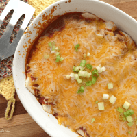 Cheesy Barbecue Chicken Enchiladas