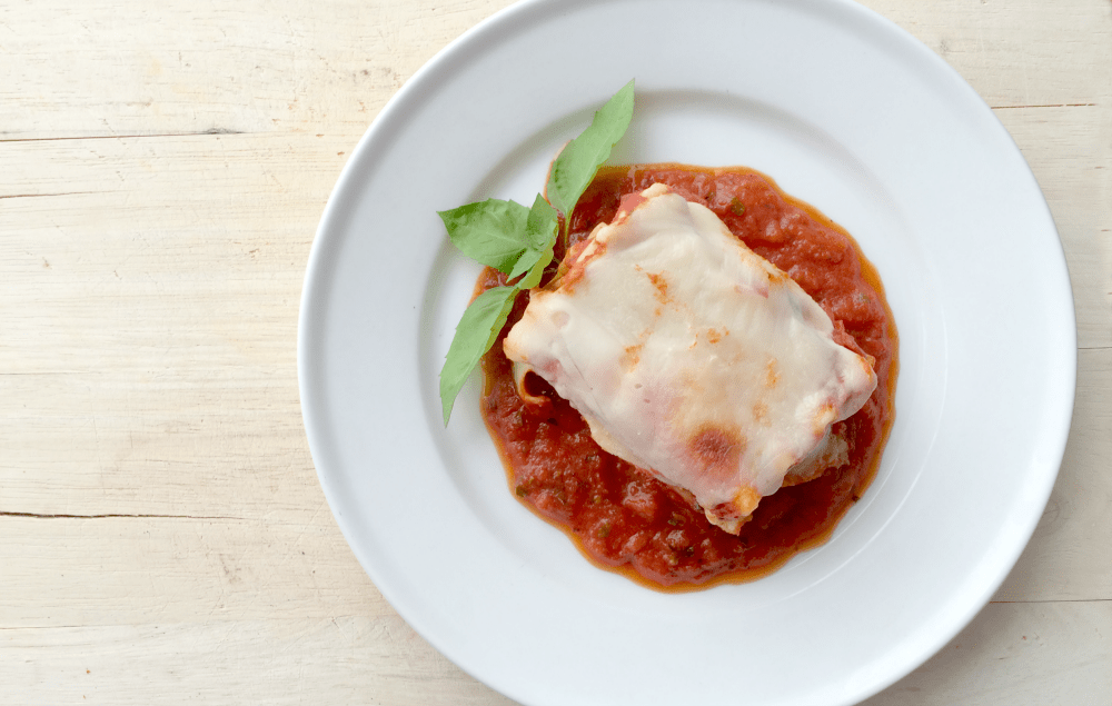 Lasagna Rolls In A Cast Iron Skillet