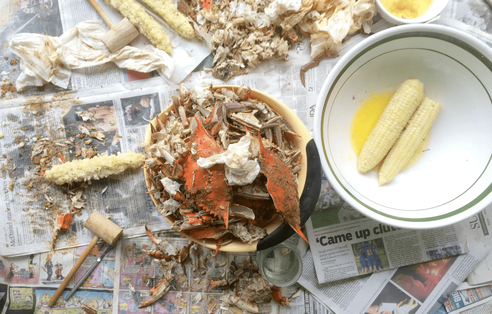 The 10 Best Things About Picking Maryland Crabs