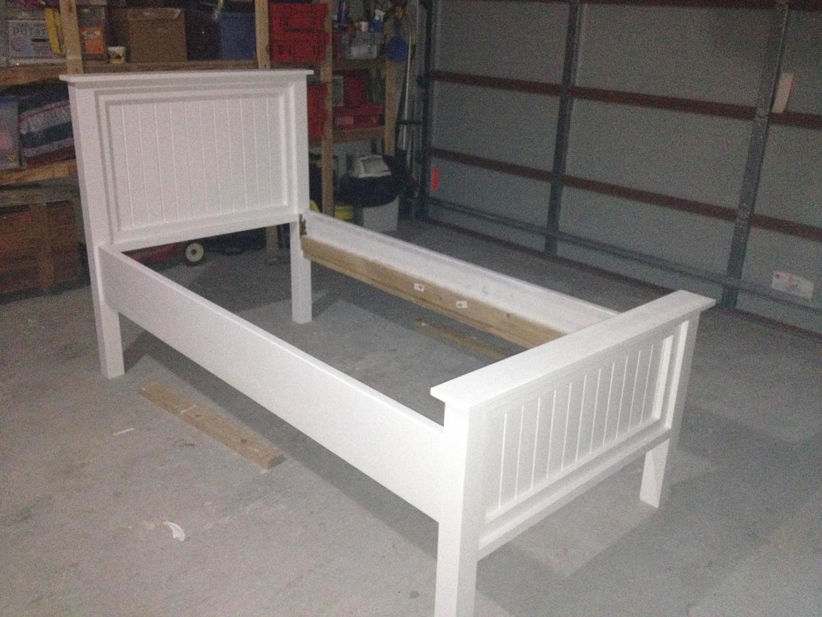 Cushty Modified Twin Farmhouse Bed Ana Modified Twin Farmhouse Bed Diy Projects Twin Bed Storage Storage Drawers Twin Bed Frame baby White Twin Bed