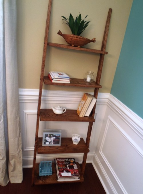 Masterly Ladder Shelf Ana Ladder Shelf Diy Projects Small Wood Wall Shelf Plans Small Wood Shelf Designs