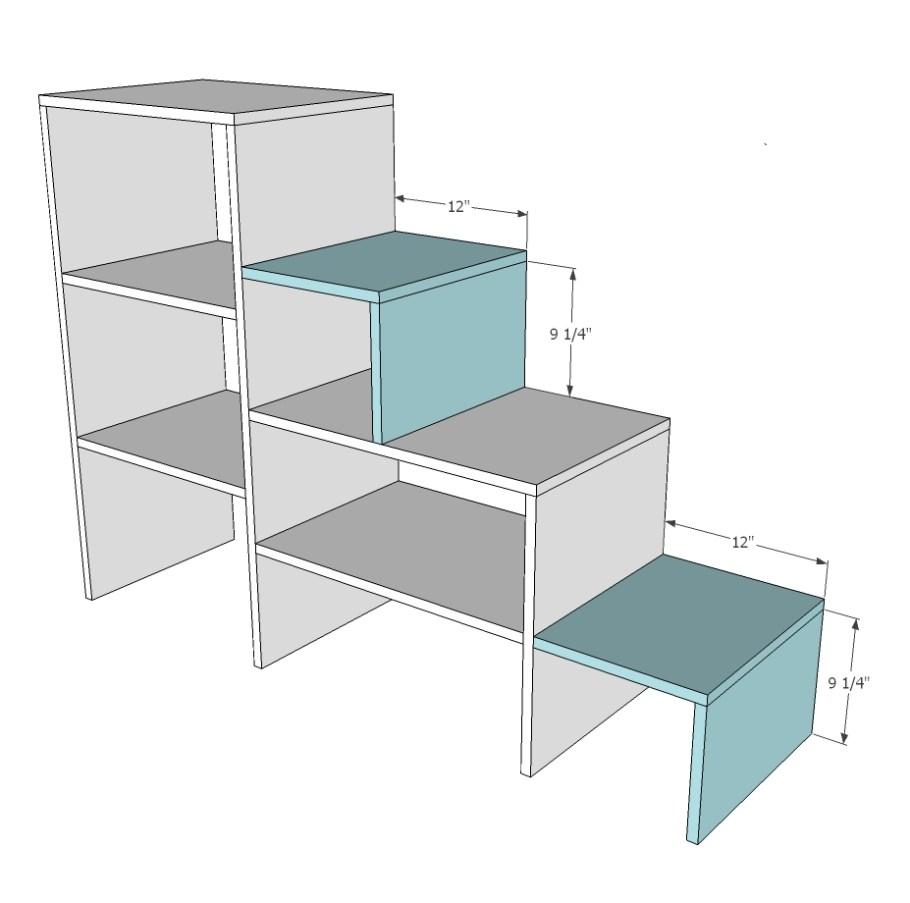 Diy loft bed with stairs plans bunk wood project and diy - Refurbish stairs budget ...
