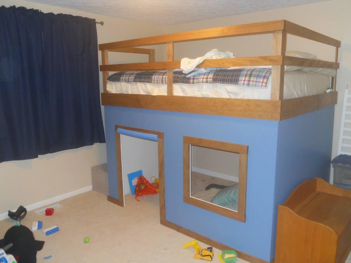 Fullsize Of Queen Bunk Bed