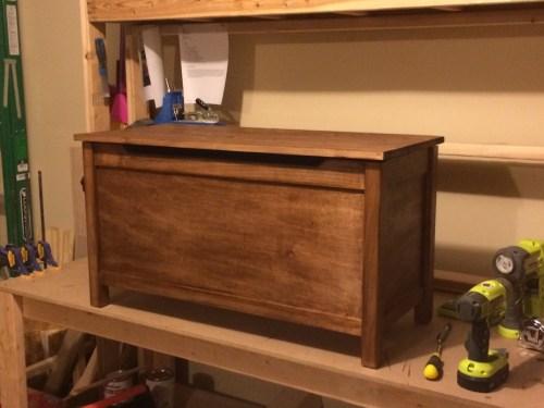 Medium Of Wood Toy Box