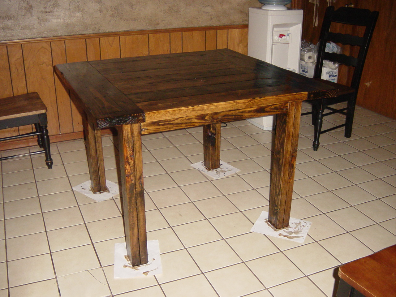 square kitchen table modified tryde coffee table square kitchen tables Ana White Square Kitchen Table Modified Tryde Coffee Table DIY Projects