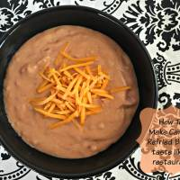 How To: Make Canned Refried Beans Taste like a Restaurant's