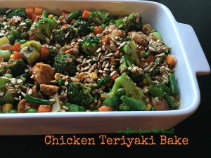 Chicken Teriyaki Bake