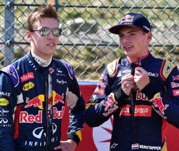 Verstappen correrá el GP de España con Red Bull y Kvyat con Toro Rosso