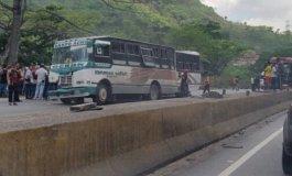 Choque en la GMA dejó 13 heridos