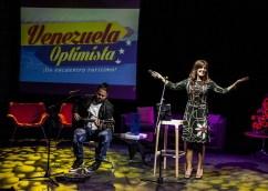 Marica Semprum cautivó con sus canciones