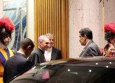 Presidente Maduro llega al Vaticano para reunirse con el Papa