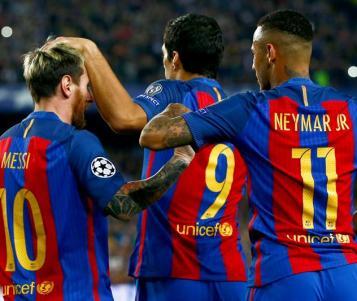 Messi, Suárez y Neymar, se toman un descanso en la Supercopa