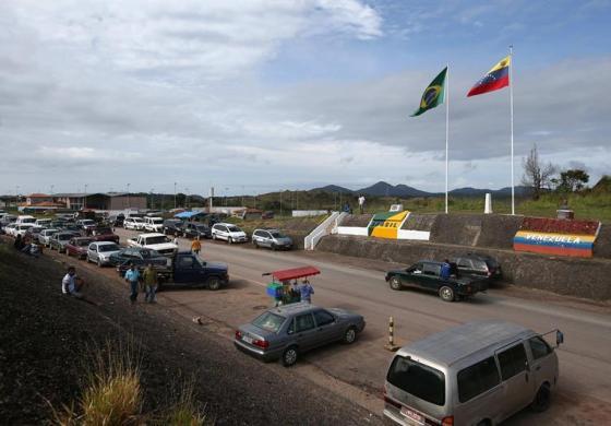 Pacaraima, frontera con Brasil que recibe a venezolanos en busca de comida
