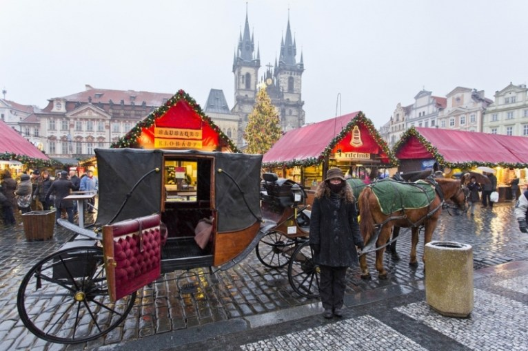 Praga en Navidad