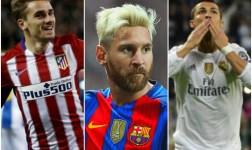 Cristiano, Griezmann y Messi, finalistas al mejor jugador de la FIFA
