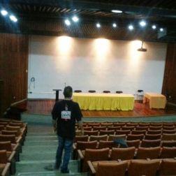 Auditorio de la Escuela de Médicos del Hospital Vargas