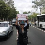 Para repudiar la censura, las 115 agresiones registradas por el Sindicato Nacional de Trabajadores de la Prensa hicieron la protesta
