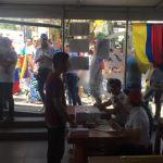 Venezolanos en Colombia asistieron al punto soberano ubicado en Pereira/ Foto: Franchesca Valeriani
