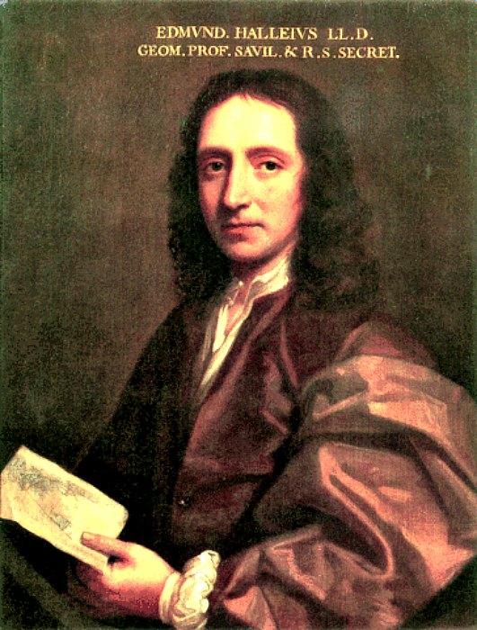 Edmund Halley fue uno de los defensores más célebres de la Teoría de la Tierra Hueca. (Wikimedia Commons)