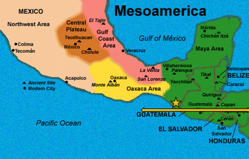 Image result for mesoamerica map