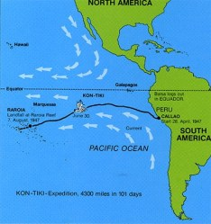 A - H - 5 Kon-Tiki Pacific Map