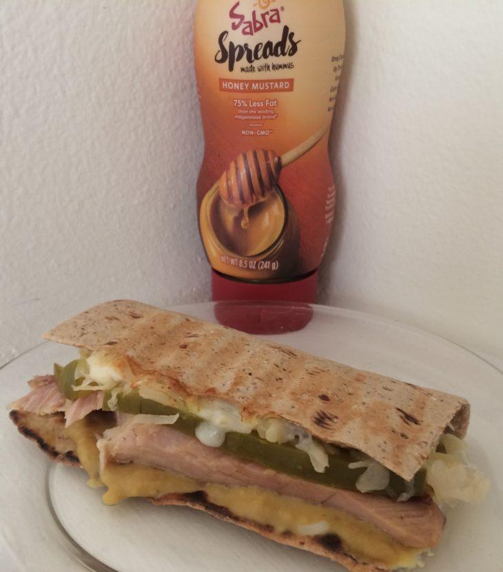 cuban inspired panini