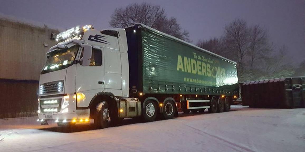 Andersons In the Snow!