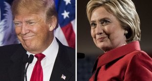 Clinton, Trump begin their first presidential debate