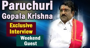 Gopalakrishna Paruchuri Exclusive Interview – Weekend Guest