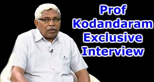 Prof Kodandaram Exclusive Interview