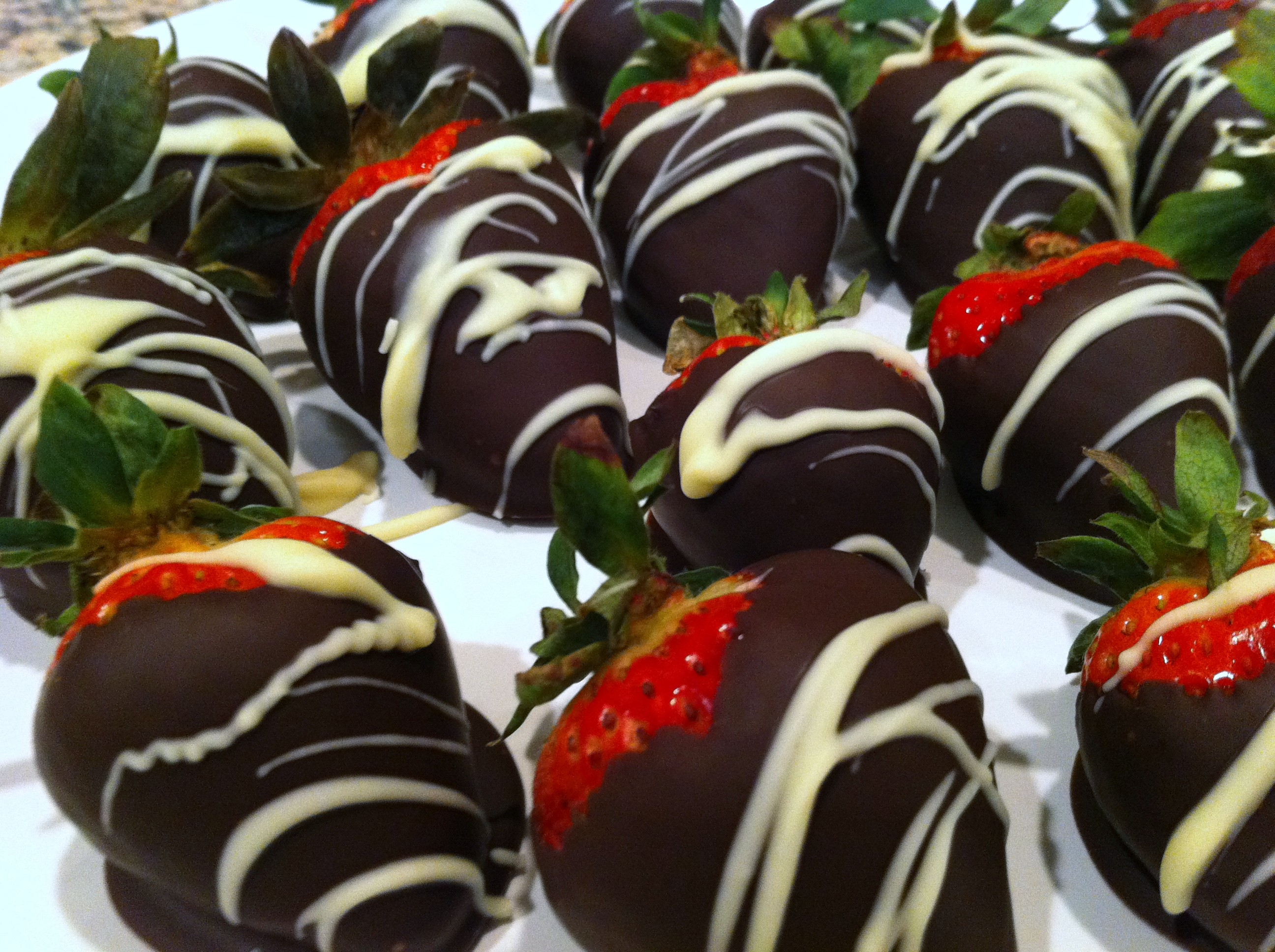 Chocolate Covered Strawberries - Andicakes